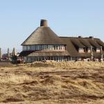 Außenansicht des Restaurant Sturmhaube auf Sylt in Kampen