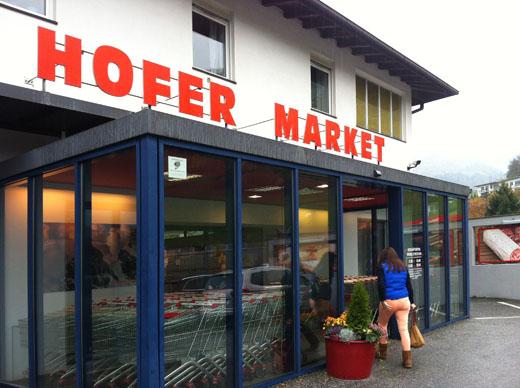 Feinkost Hofer Market, Sterzing, Italien