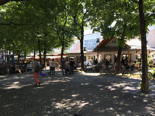 Elisabethmarkt, München, Deutschland